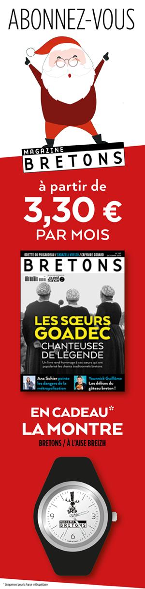 Abonnez vous à Bretons pour Noel
